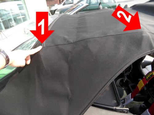 BMW E36 Cabrio Spannband Verdeckproblem die Lösung HIER Spannbänder Neu