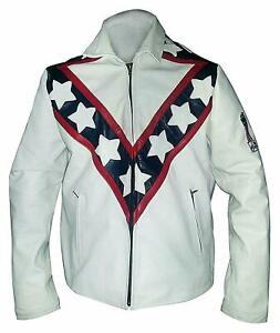 Men-Vintage-Evel-Knievel-Stunt-Performer-Biker-Cafe-Racer-Style-Leather-Jacket