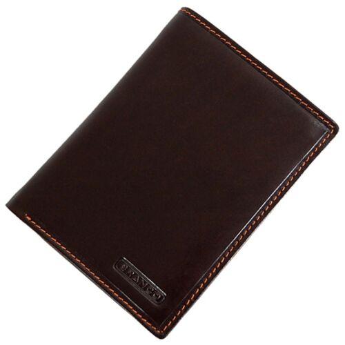 Branco Ausweisetui Ausweismappe Ausweishülle Leder Geldbörse mit Scheinfach 7535