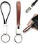 Leder-Schluesselanhaenger-Ladekabel-braun-kurz-Apple-Lightning-iOS-iPhone-iPad Indexbild 1