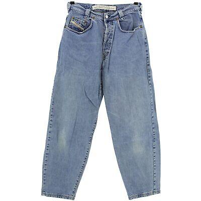#4016 Diesel Jeans Uomo Pantaloni Old Saddle Denim Blue Blu 32/32-mostra Il Titolo Originale Delizie Amate Da Tutti