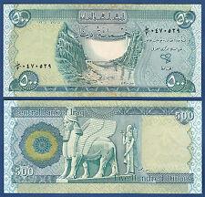 IRAK / IRAQ  500 Dinars 2004 UNC  P.92
