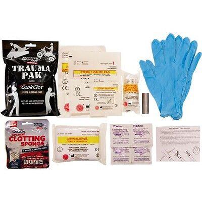 Adventure Medical Waterproof Trauma Pak W/QuikClot  First Aid Kit 2064-0292