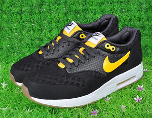 89e261f7c2 2010 Nike Air Max 1 Maxim Torch+ ND SZ 13 Black Varsity Maize Yellow ...