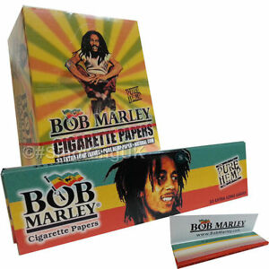 bob marley king size pure hemp paper rizla smoking rolling papers