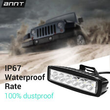 6INCH 18W LED WORK LIGHT BAR SPOT for Motorcycle OFFROAD FOG 4WD BOAT UTE