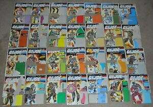 1980s-GI-Joe-Cobra-Dreadnok-File-Card-Back-Lot-Bats-Eels-Flint-Major-Bludd-Dusty