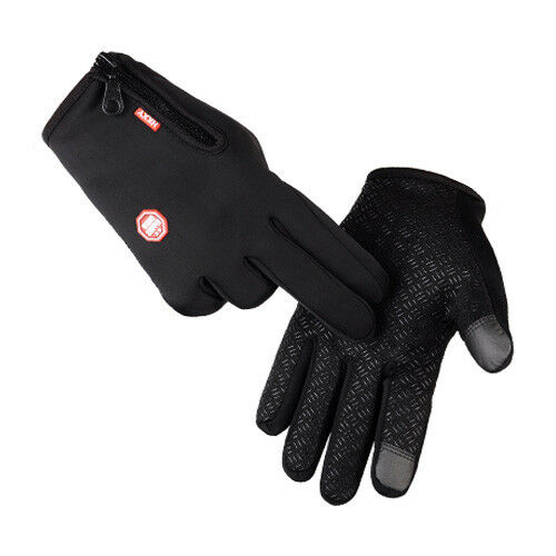 Hiver Gants Chaud Tactiles Coupe-vent anti-dérapant Cyclisme Ski Escalade CO