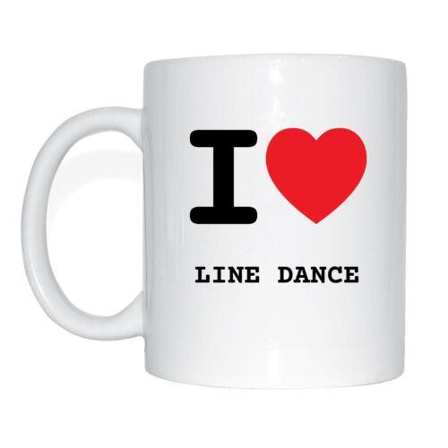 I love LINE DANCE Tasse Kaffeetasse