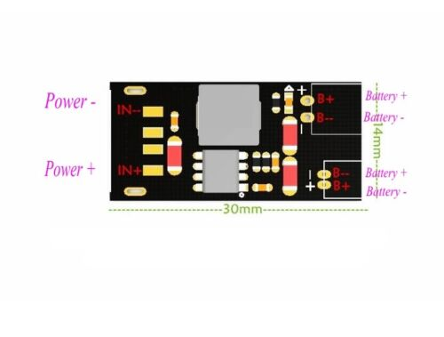 2A Lithium Battery Charging Board 4.2V 8.4V 12.6V Synchronous Rectifier Module