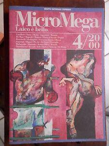 MICROMEGA-N-4-2000-LAICO-E-BELLO-Camilleri-Mafai-Argentieri-Bonetti-De-Masi