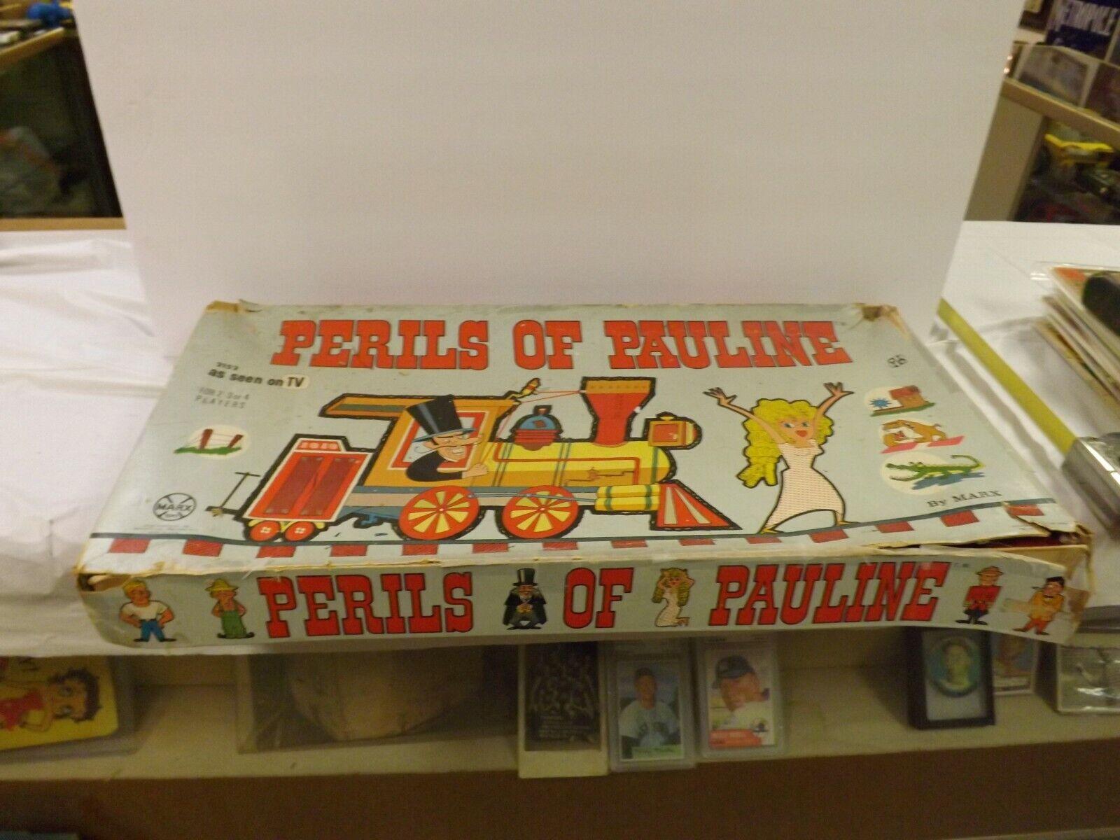 Vintage Marx Perils of  Pauline tavola gioco As Seen on TV  all'ingrosso economico e di alta qualità