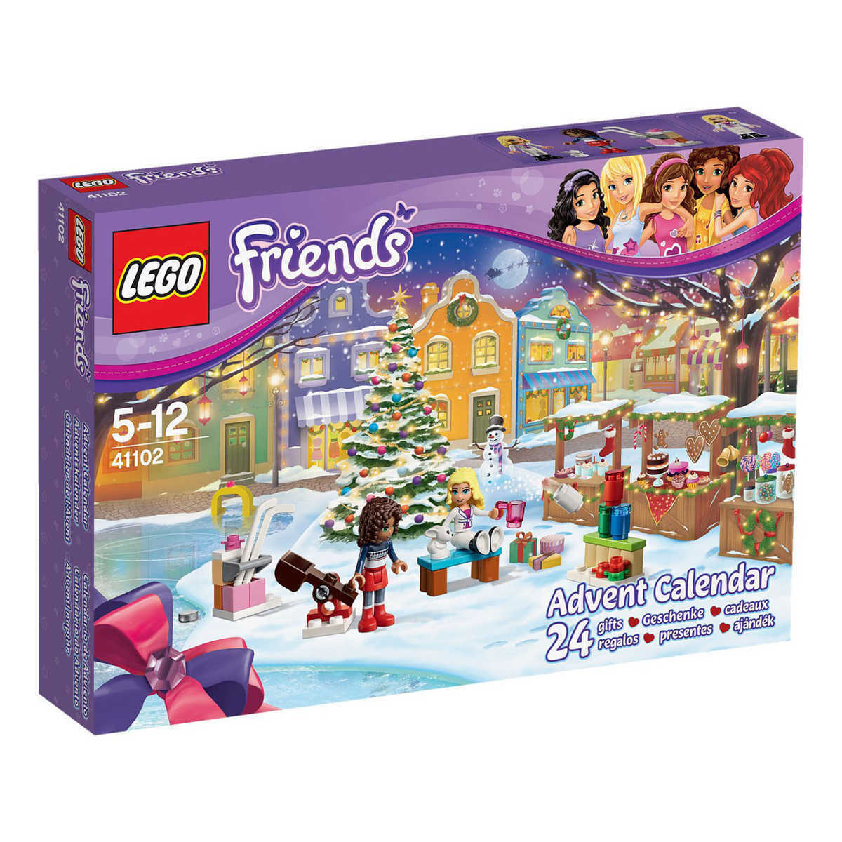 Lego Friends 41102 2015 Advent Calendar Friends Andrea and Liza Present Girl NEW