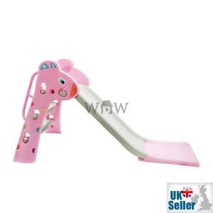 WDW-Babys-Infantil-Ninos-Primero-Slide-Azul-Rosa-Interior-Jardin-Juguete-125cm