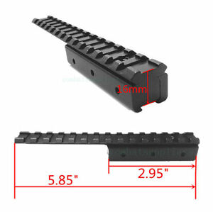 Mosin-Nagant-M91-30-Dovetail-to-Picatinny-Weaver-Rail-Adapter-Scope-Mount-Long