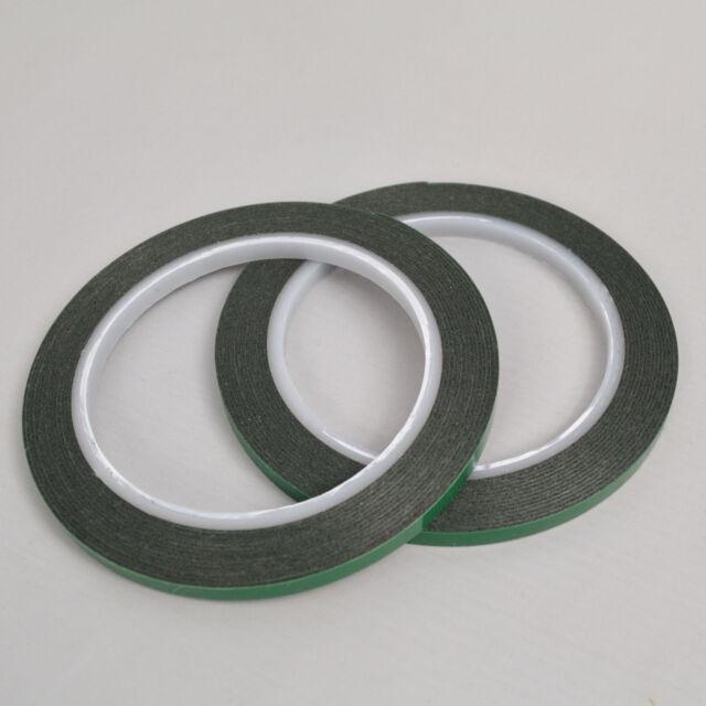 Super Strong Black Permanent Double Side Foam Car Tape 6mm//5m
