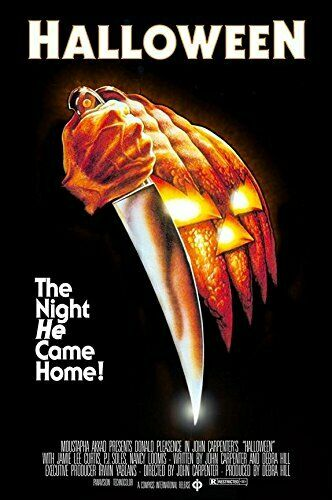P591 Art Poster Halloween Classic Horror Movie Sereis