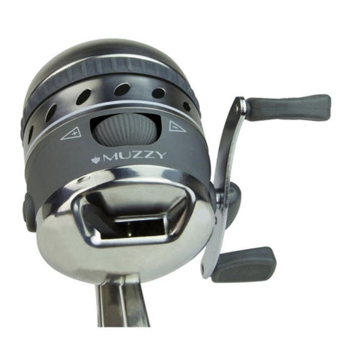 Nuevo Estilo Muzzy XD Pro Bowfishing Giro Carrete con sistema de montaje 1069