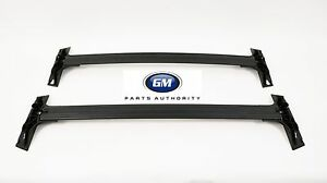 09 17 Chevrolet Traverse Roof Rack Cross Rails 19243901