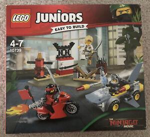 Lego Juniors Ninjago Movie - Shark Attack - 10739 - New & Factory Sealed