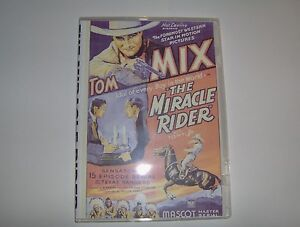 THE MIRACLE RIDER SERIAL CLIFFHANGER 15 CHAPTERS 2 DVDS