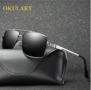 Herren Metall polarisierte Sonnenbrille Retro Outdoor DRIVING FISHING Modebrillen