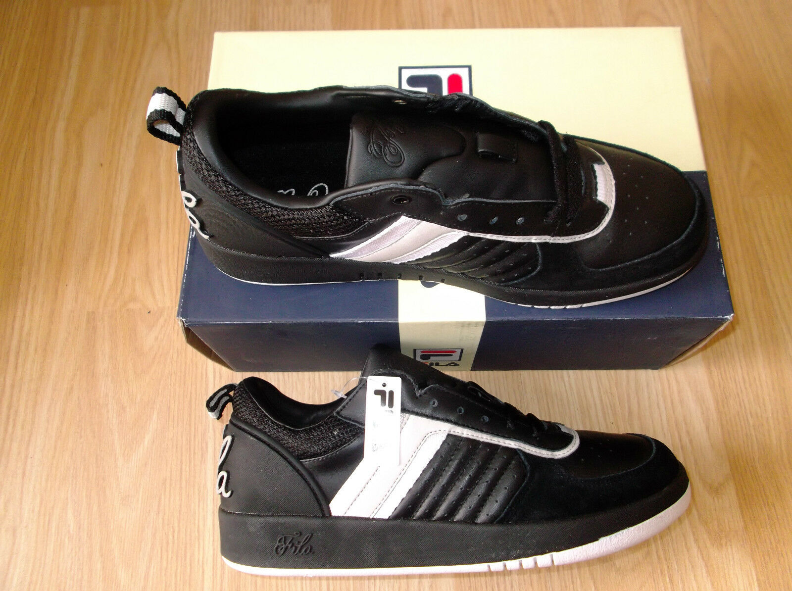 NEW MENS FILA SIGNATURE EXCLUSIVE TRAINERS BLACK SIZE 7 EURO 41 The most popular shoes for men and women