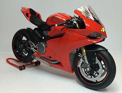 1:12 Ducati 1199 Panigale S Decals Valentino Rossi - Tricolore For Tamiya RARE