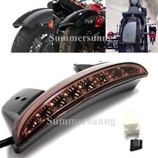 Motorcycle Bike LED Stop Brake License Plate Rear Tail Light FOR Harley XL 883