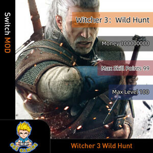 Witcher-3-Wild-Hunt-Switch-Mod-Max-Money-SKill-Points-Level