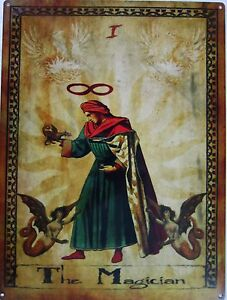 Details about The Magician Tarot Card l Metal Sign