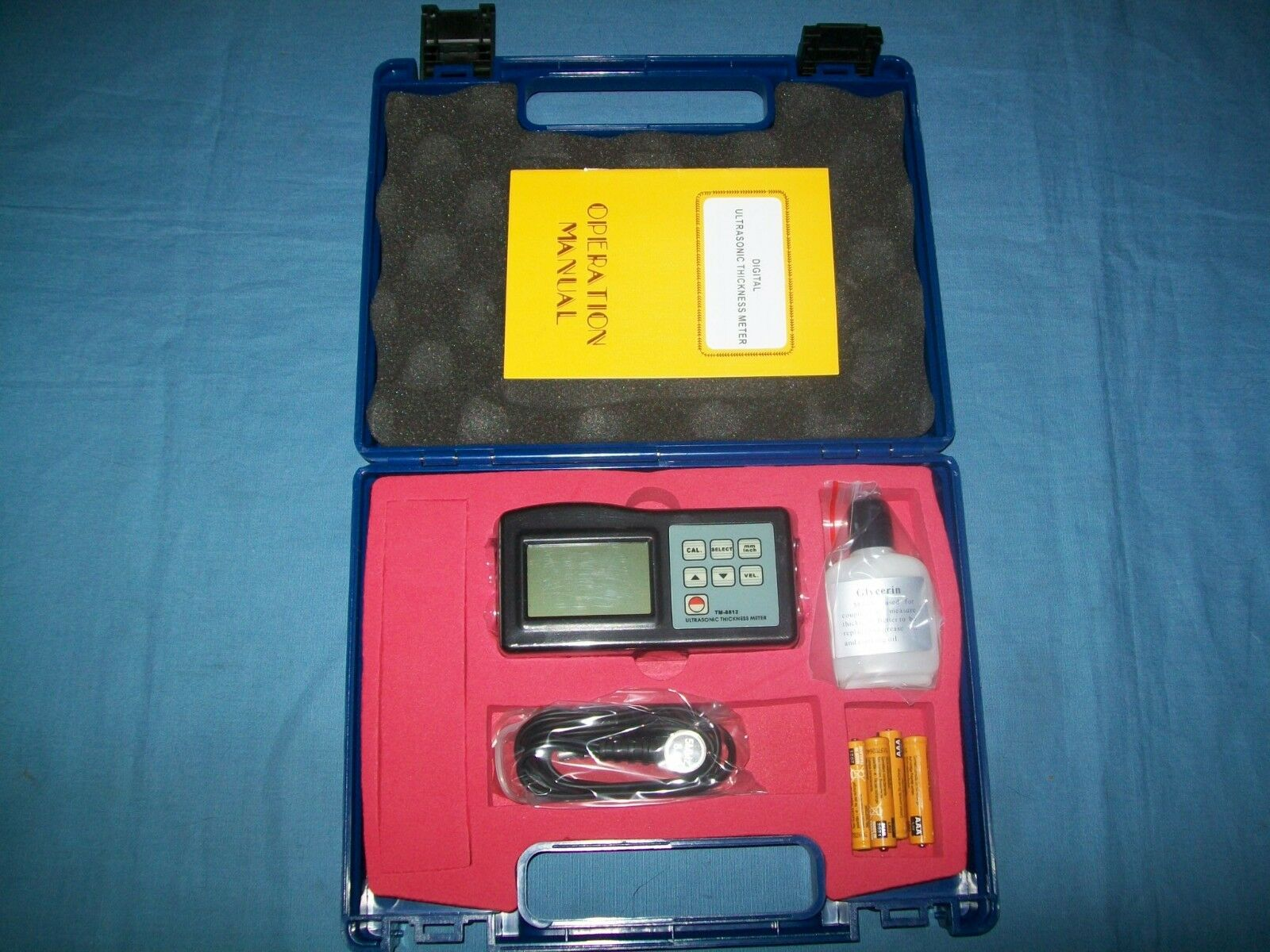 NEW GF Signet 159300012 TM-8812 Ultrasonic Thickness Gage Gauge 1.0-200 mm