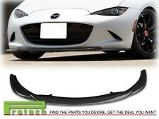 2016+ Mazda MX-5 Miata ND GV TYPE CARBON FIBER FRONT BUMPER LIP BODY KIT