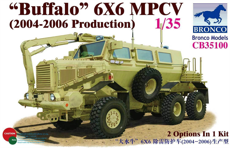 BRONCO CB35100 1 35 Buffalo MPCV 6X6 (2004-06 Production)