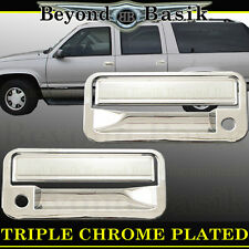 88-98 GMC CHEVROLET C/K 1500 Chrome Door Handle Cover With Psgr Keyhole