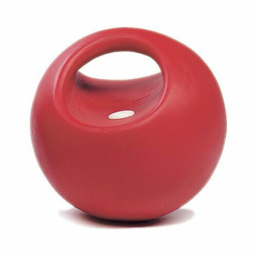 USG Game Ball with Handle Red for Horses