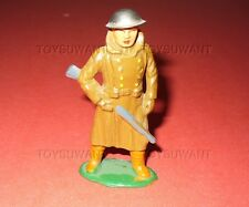 VINTAGE DIMESTORE LEAD TOY SOLDIER BARCLAY 736 SENTRY B71 NICE PAINT HOLLOW CAST