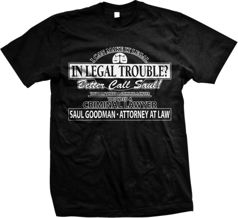 Better Call Saul Attorney At Law- Breaking Bad Saul Goodman -Men's T-shirt 1