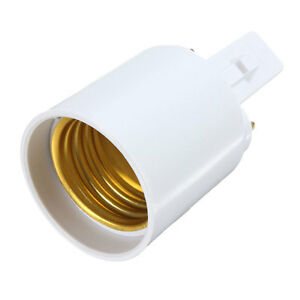 G23 To E27 Base Socket Cfl Led Halogen Light Lamp Bulb