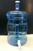 5 Gallon Polycarbonate Reusable Water Bottle With Faucet (made In Usa)