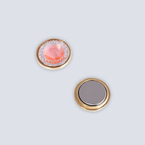 Velvet Gift Pouch New Magnetic Pin Clip Brooch for Scarf Shawls Hijab Pinless