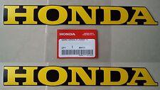 Honda Frame Emblem Sticker Decals x 2 CF50 CF70 C90 MONKEY DAX CHALY **GENUINE**
