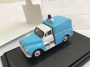 Oxford Diecast 1/76 Morris Minor   POLICE       BOXED
