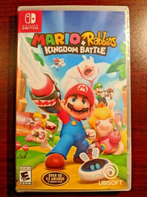 Mario + Rabbids Kingdom Battle Nintendo Switch 2017 Video Game Trusted US Seller