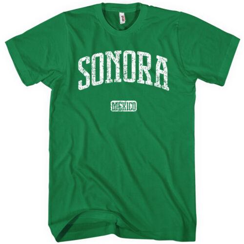 Sonora Mexico T-shirt Men S-4X Gift Hermosillo Obregon Nogales Cimarrones de