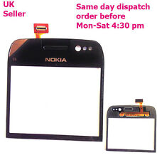 Nokia E6 Digitizer Front Glass Repair Touch Screen Panel Replacement Black +tool