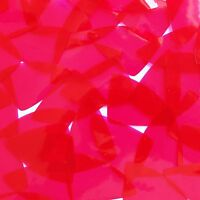 Sequin 24 X 40mm Shape Fish Scale Vinyl Go Go Trans Raspberry. Made In Usa