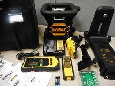 Dewalt Dw080lgs 20v Max Tool Connect Green Tough Rotary Laser Kit
