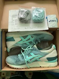 best website fb3c2 2225c Details about Asics Gel Lyte V Sage Ronnie Fieg Kith Dark Green/Mint Size  11.5 3 Sets Of Laces