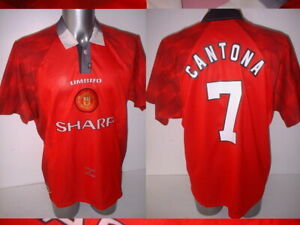 c3d1cbedfe5 Image is loading Manchester-United-Eric-Cantona-Jersey-Shirt-XL-Soccer-